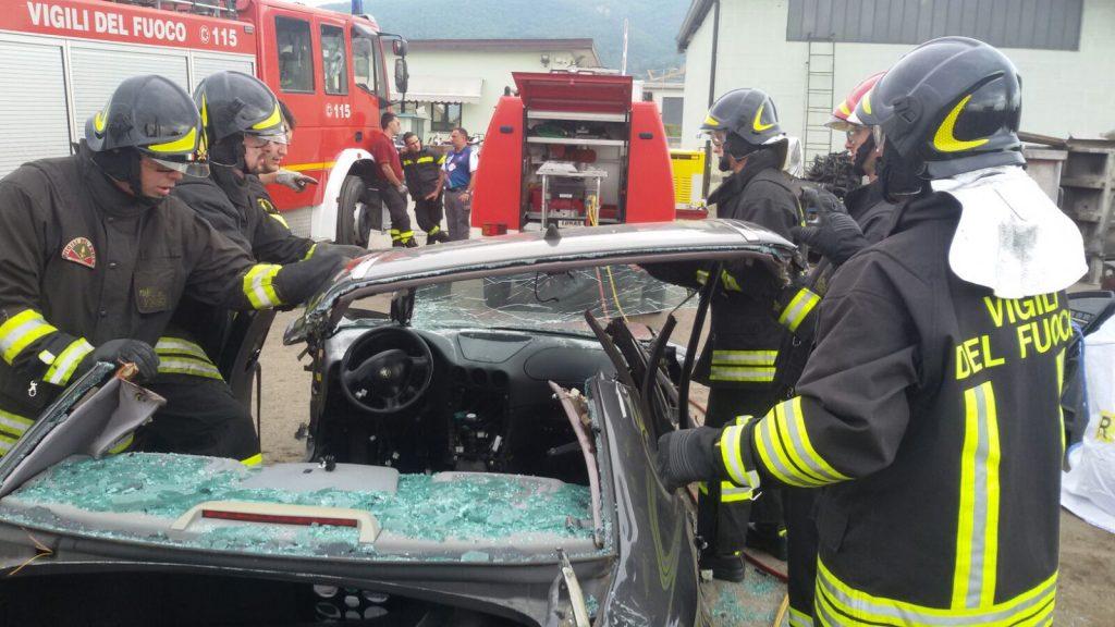 addestramento vigili del fuoco sansepolcro