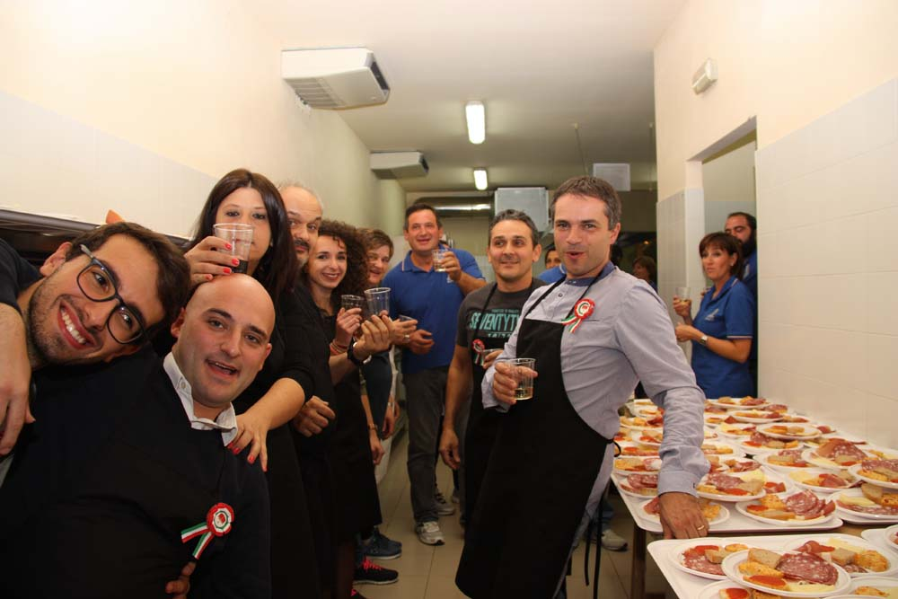 Cena associazione Vigili del Fuoco Sansepolcro (2)