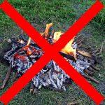 divieto accensione fuoco